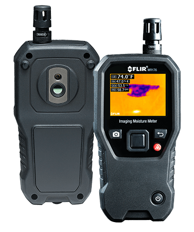MR176 moisture meter with integrated thermal imaging camera