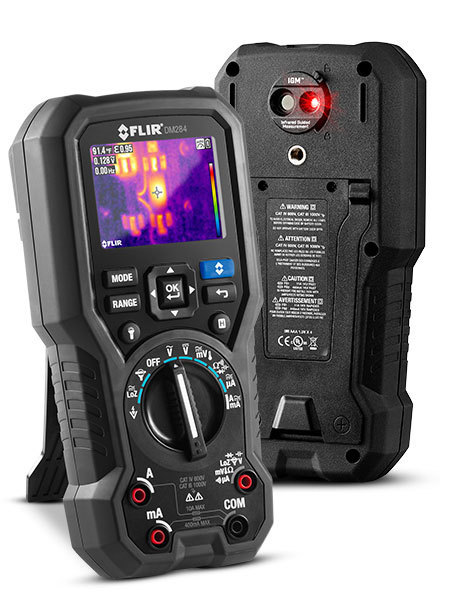 FLIR DM284 Wärmebild-Multimeter mit IGM - Top Kombination