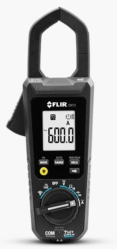 FLIR CM72 600 A current clamp with true rms measurement